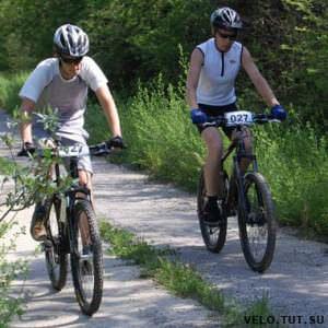 участники велосоревнования