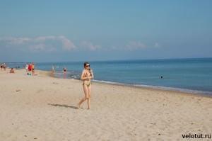 море в поселке Веселовка