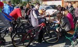 Запись велосипедистов