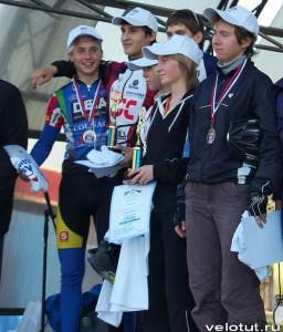 Победители велосоревнования