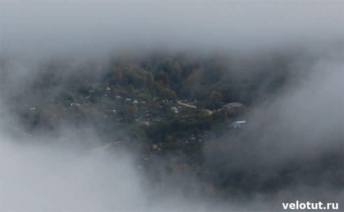 поселок Мезмай вид с горы