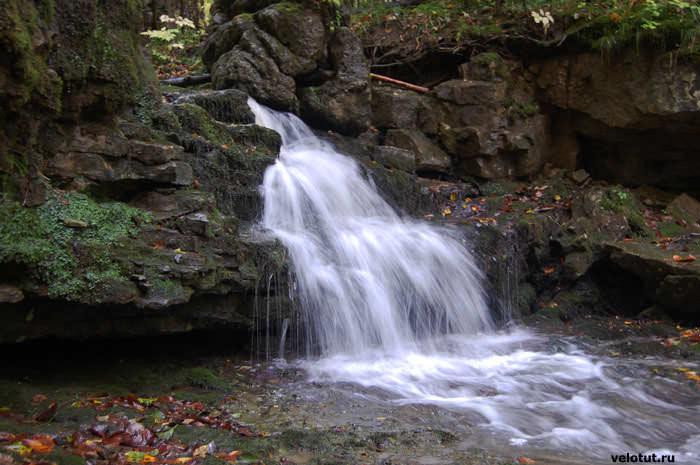 маленький водопадик в мезмае