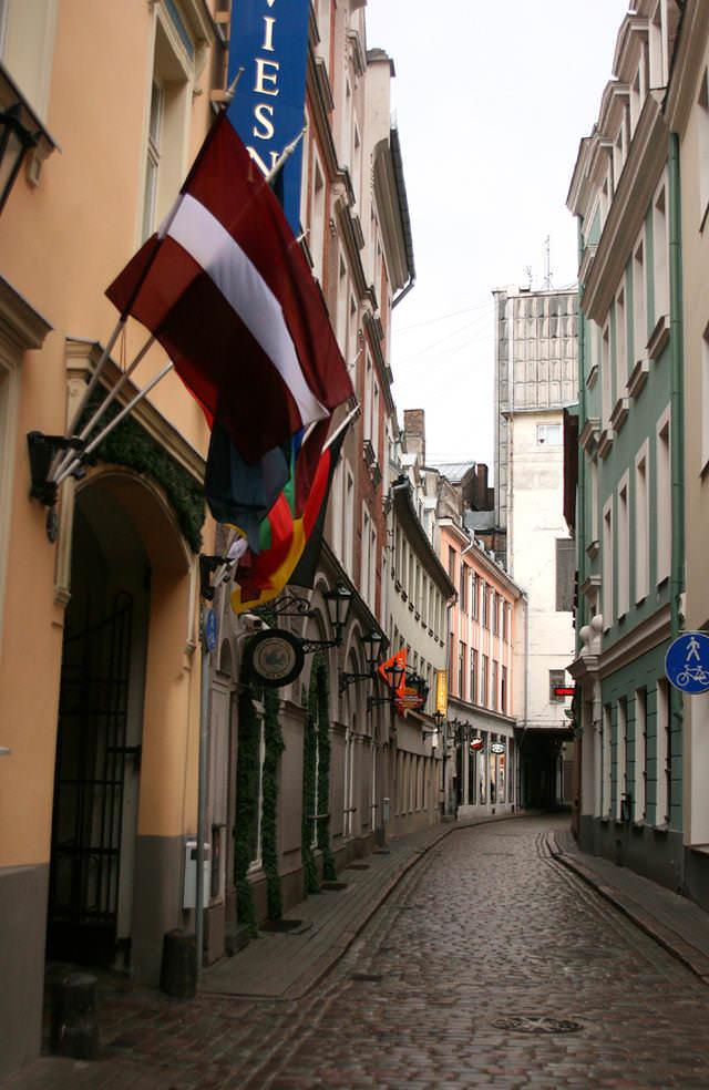 улицы Риги, Латвия