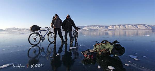 велопоездка по озеру Байкал