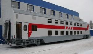 двухэтажные поезда в России