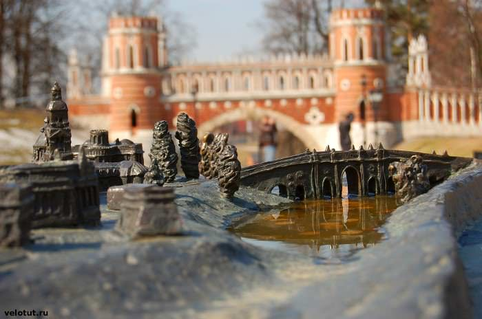 макет Царицынского парка