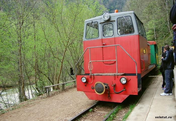 узкоколейный поезд