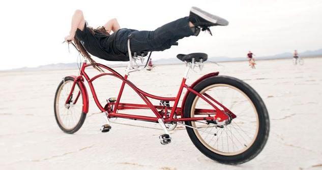 велосипед тандем электра