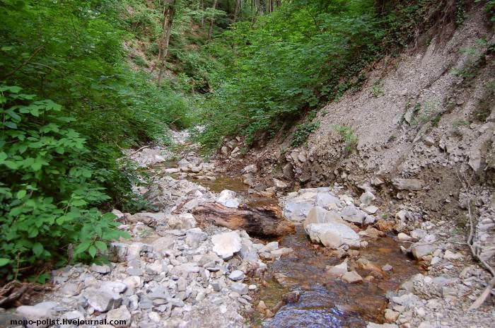 ручей, где водопад большой адегойский