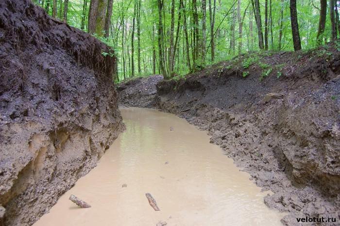 грязевая дорога