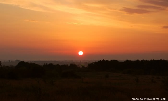 рассвет в абинске
