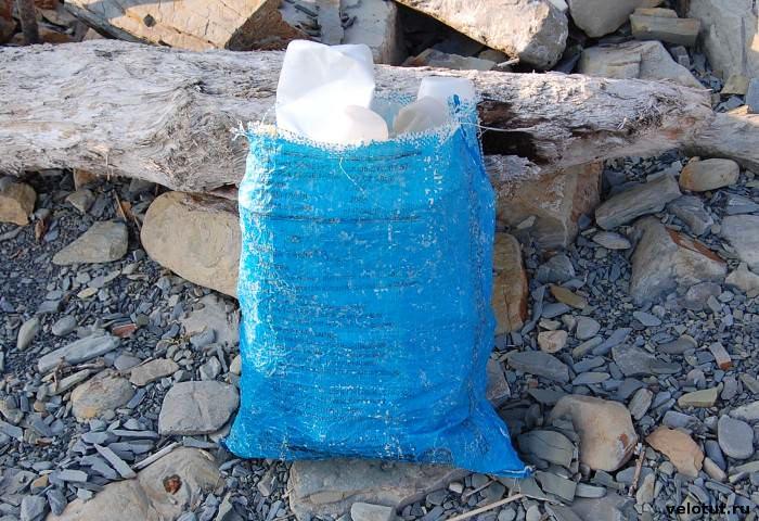 мешок с мусором