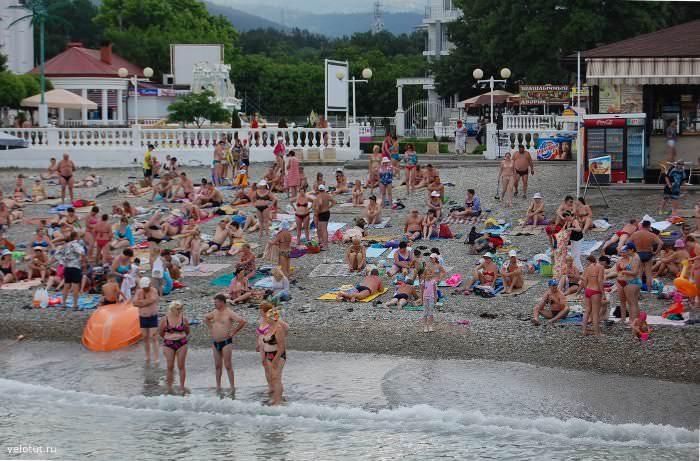 городской пляж в кабардинке