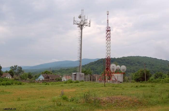 вышки сотовой связи в шапсугской