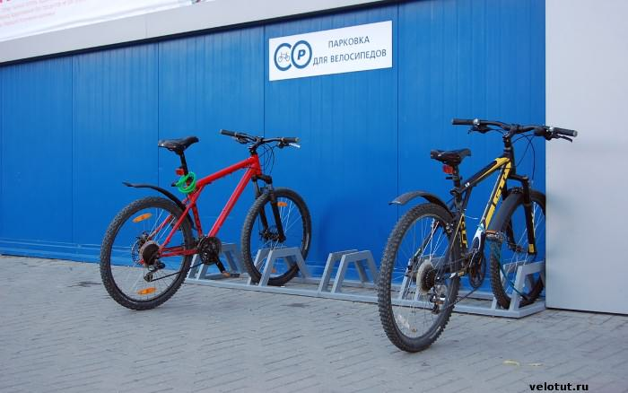 велопарковка бауцентр краснодар