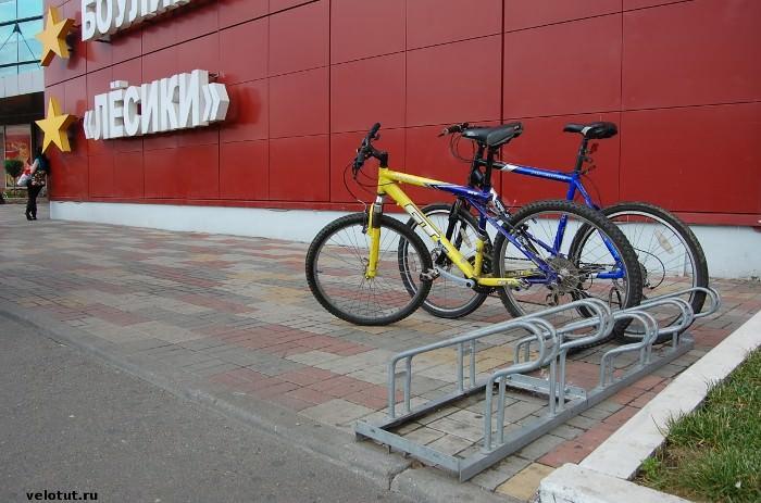 ТЦ «СБС Мегамолл» велопарковка
