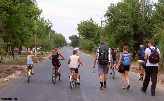 майкопские велосипедисты