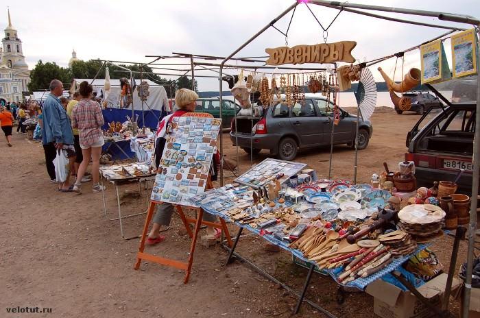 сувенирная палатка