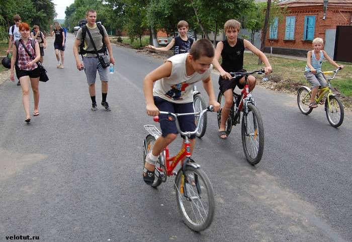 велосипедисты в майкопе