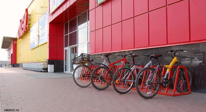 велопарковка окей краснодар