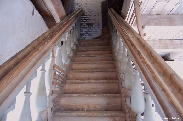 лестница на колокольне