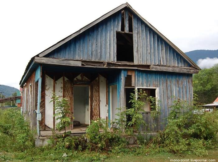 заброшенный дом в Гузерипле