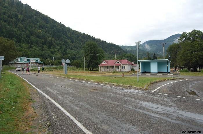 остановка для автобусов Гузерипль