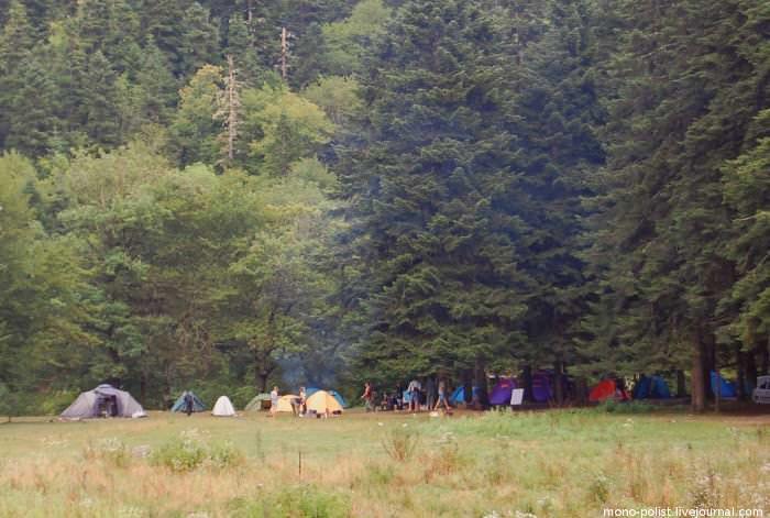 палаточный лагерь гузерипль