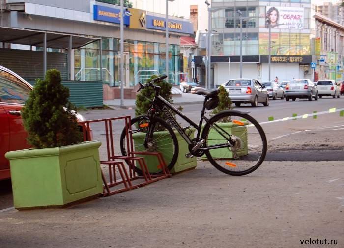 велопарковка Дранки-Бар