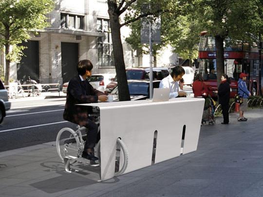 велостоянка в японии