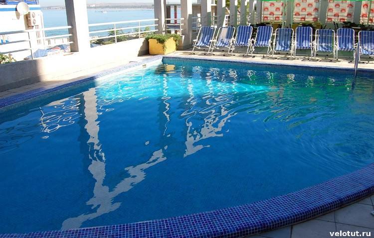 бассейн парк отель анапа