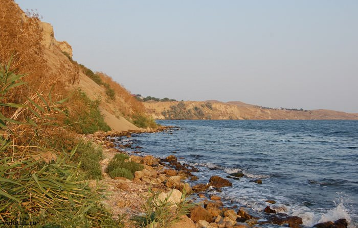 Тамань море