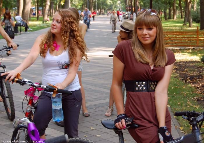 девушки на велосипедах краснодар