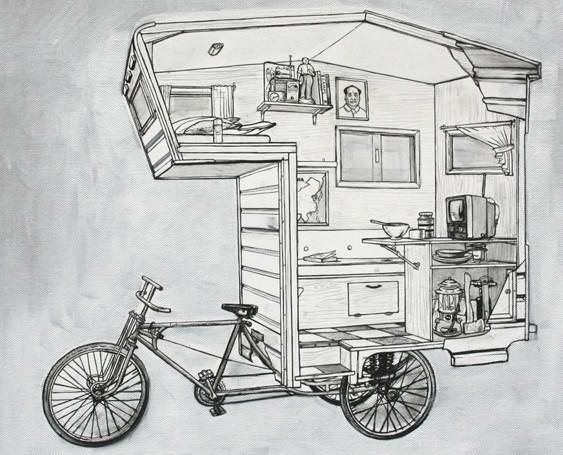 велосипедный дом