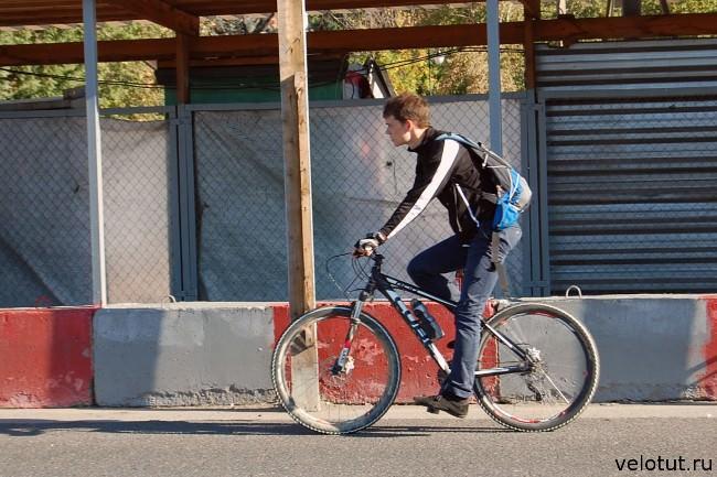 московский велосипедист