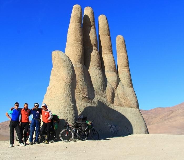 велосипедисты в экспедиции 900 дней