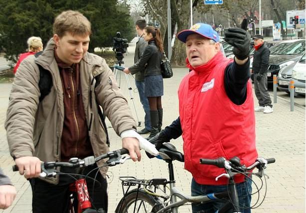 велосипедисты краснодар