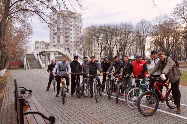 велосипедисты краснодара