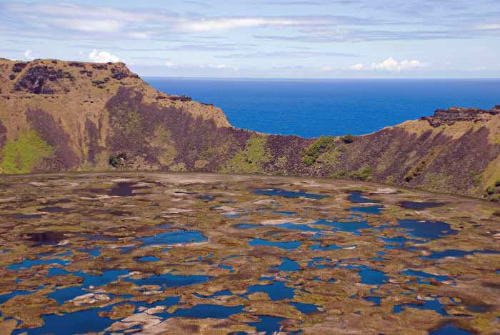озеро Рано-Као Пасха