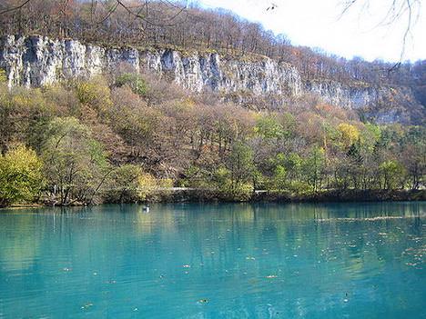 голубое озеро Кабардино-Балкарии