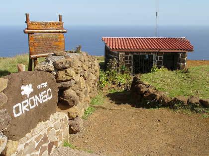 Деревня Оронго Пасха