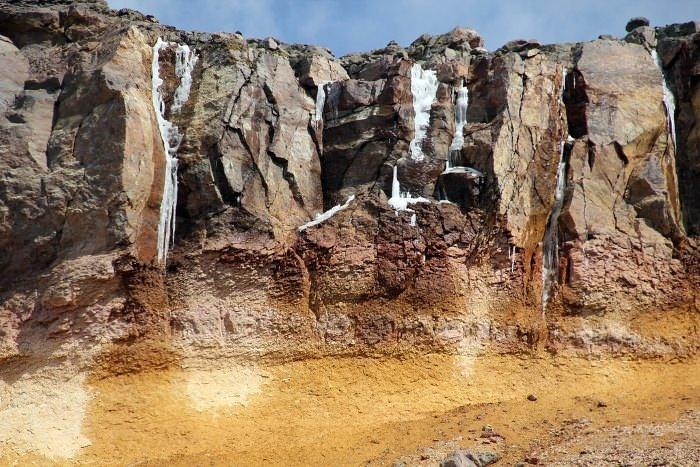 скалы у вулкана Орисаба, Мексика