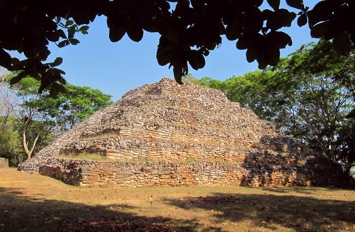 пирамида индейцев Майя, Мексика