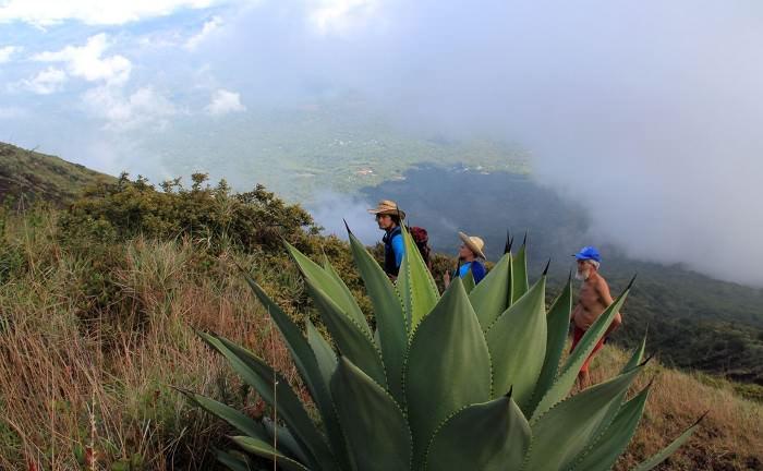восхождение на вулкан Сан Мигель, Сальвадор