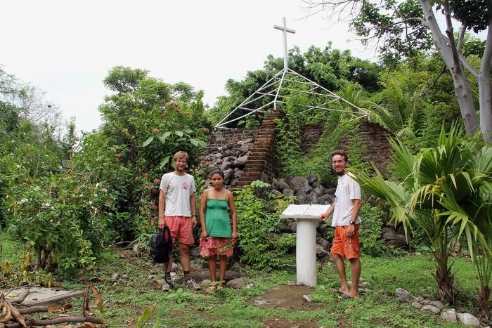 у вулкана Касита, Никарагуа