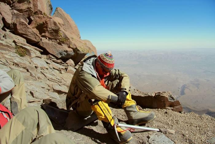 вулкан Мисти, Перу