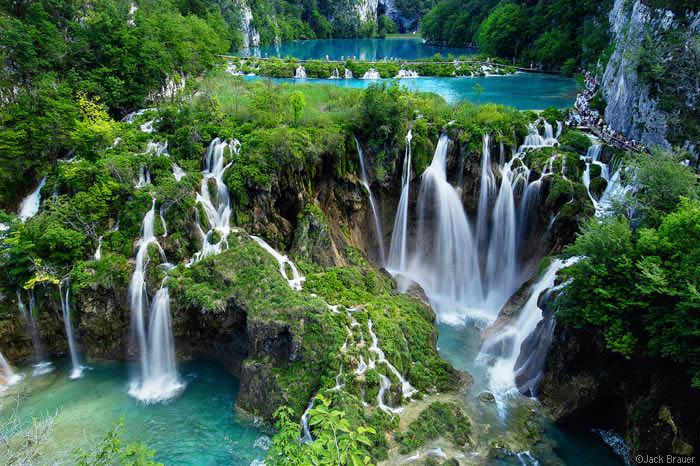 водопады в Хорватии