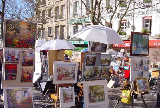 Porte de Clignancourt блошиный рынок Франции