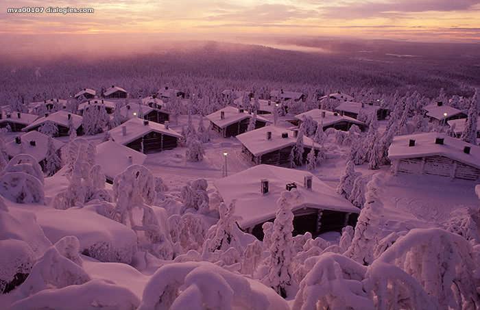 горнолыжный курорт Сюёте, Финляндия