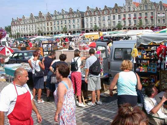 блошиный рынок в Нидерландах